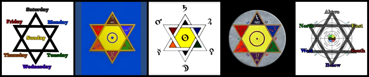 The Star of David's 7 Parts