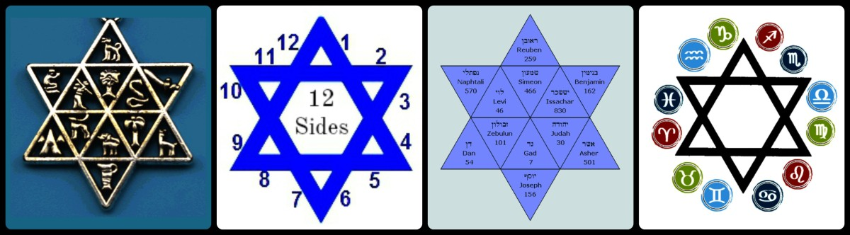 The Star of David's 12 Sides
